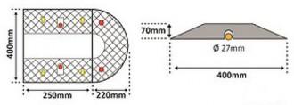 Ralentisseur modulable - Devis sur Techni-Contact.com - 3