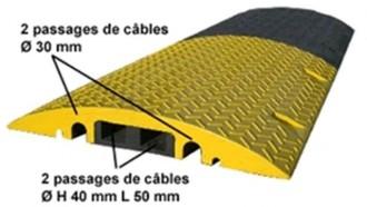 Ralentisseur passe cable - Devis sur Techni-Contact.com - 1
