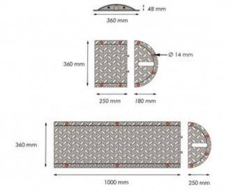 Ralentisseurs en acier - Devis sur Techni-Contact.com - 4
