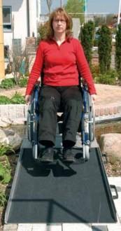 Rampe accès handicapé en aluminium - Devis sur Techni-Contact.com - 2