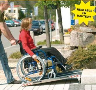 Rampe accès handicapé en aluminium - Devis sur Techni-Contact.com - 3