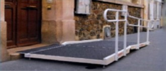 Rampe d'accès amovible PMR - Devis sur Techni-Contact.com - 1