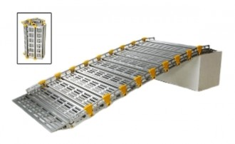 Rampe d'accès enroulable PMR - Devis sur Techni-Contact.com - 5