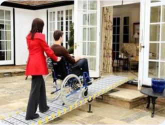 Rampe d'accès handicapés 450 Kg - Devis sur Techni-Contact.com - 3