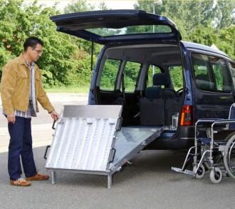 Rampe d'accès pour fauteuil roulant - Devis sur Techni-Contact.com - 1