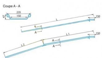 Rampe de chargement aluminium antidérapante - Devis sur Techni-Contact.com - 2