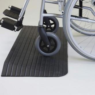 Rampe de seuil handicapés en caoutchouc - Devis sur Techni-Contact.com - 3