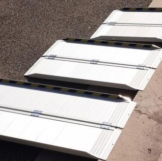 Rampe handicapé mobile en aluminium - Devis sur Techni-Contact.com - 1