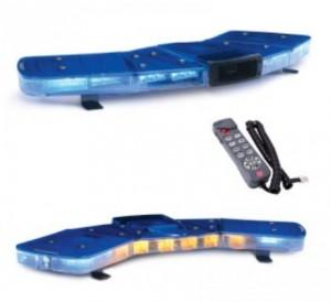 Rampe lumineuse en V avec sirène et haut parleur - Devis sur Techni-Contact.com - 1