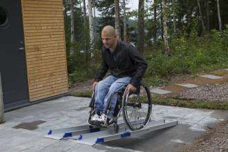 Rampes pour fauteuil roulant - Devis sur Techni-Contact.com - 1