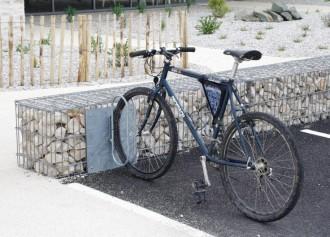 Range vélos gabion frontal - Devis sur Techni-Contact.com - 2