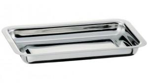 Ravier rectangulaire Inox 18% uni - Devis sur Techni-Contact.com - 1