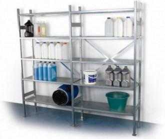 Rayonnage alimentaire en aluminium ou inox - Devis sur Techni-Contact.com - 1