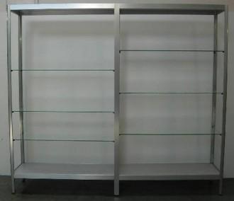 Rayonnage aluminium - Devis sur Techni-Contact.com - 1