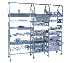 Rayonnage mobile médical - Devis sur Techni-Contact.com - 1