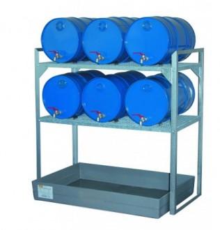 Rayonnage pour stockage de fûts - Devis sur Techni-Contact.com - 1
