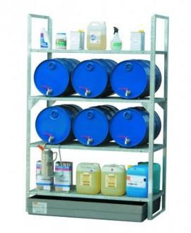 Rayonnage pour stockage de fûts - Devis sur Techni-Contact.com - 2