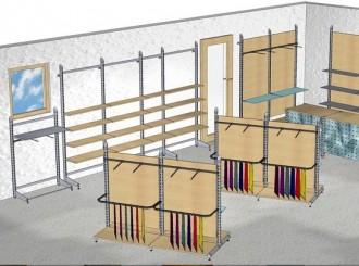 Rayonnage pour textile - Devis sur Techni-Contact.com - 2