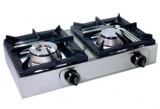 Réchaud à gaz professionnel 2 brûleurs - Devis sur Techni-Contact.com - 1