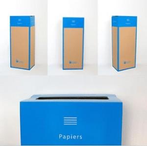 Box de recyclage carton et papier - Devis sur Techni-Contact.com - 1