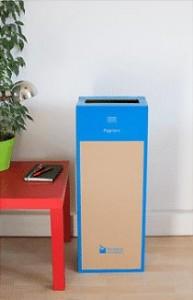 Box de recyclage carton et papier - Devis sur Techni-Contact.com - 2