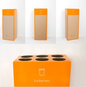 Box de recyclage gobelet plastique - Devis sur Techni-Contact.com - 1