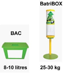 Recyclage piles et batteries non rechargeable - Devis sur Techni-Contact.com - 2