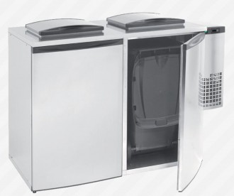 Refroidisseur de déchets 2 portes - Devis sur Techni-Contact.com - 1