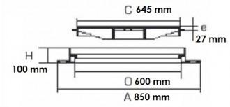 Regard à paver rond D 400 - Devis sur Techni-Contact.com - 2
