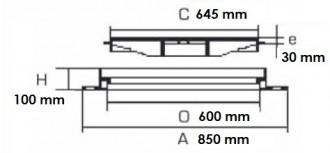 Regard carré cité étanche D 400 - Devis sur Techni-Contact.com - 2