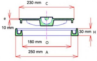 Regard carré hydraulique B 125 - Devis sur Techni-Contact.com - 2