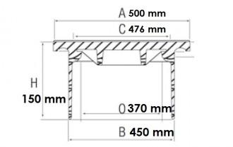 Regard de branchement C 250 - Devis sur Techni-Contact.com - 3