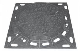 Regard de chaussée en fonte carré D 400 - Devis sur Techni-Contact.com - 1