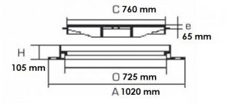 Regard en fonte de trottoir D 400 - Devis sur Techni-Contact.com - 2
