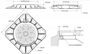 Regard en fonte ductile D-400 - Devis sur Techni-Contact.com - 2