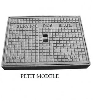 Regard hydraulique en fonte carré B 125 - Devis sur Techni-Contact.com - 1