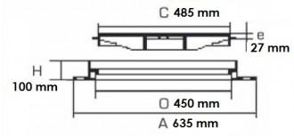 Regard mini rond D 400 - Devis sur Techni-Contact.com - 2