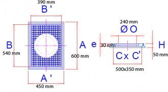 Regard pour citerne en fonte C 250 - Devis sur Techni-Contact.com - 2