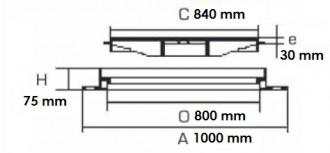 Regard rond méditerranée D 400 - Devis sur Techni-Contact.com - 2