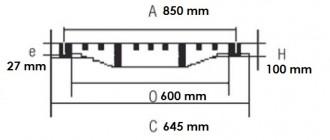 Regard rond verrouillable D 400 - Devis sur Techni-Contact.com - 2
