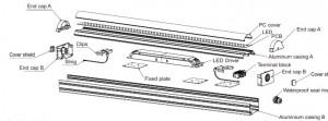 Réglette LED haute puissance - Devis sur Techni-Contact.com - 3
