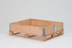 Rehausse bois de palette épaisseur 2.0 mm blanche - Devis sur Techni-Contact.com - 1