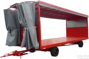 Remorque à bâche coulissante charge 6 tonnes - Devis sur Techni-Contact.com - 1