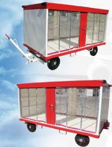Remorque à bagage en acier galvanisé - Devis sur Techni-Contact.com - 1