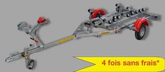 Remorque bateau semi rigide - Devis sur Techni-Contact.com - 2