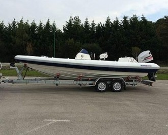 Remorque porte bateau petites quilles 960 kg - Devis sur Techni-Contact.com - 3