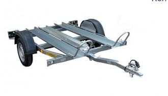 Remorque porte moto à timon droit - Devis sur Techni-Contact.com - 3