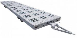 Remorque porte palette pour transport et manutention fret - Devis sur Techni-Contact.com - 1