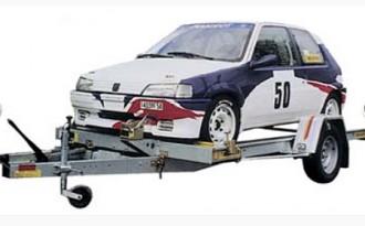 Remorque porte voiture 1 essieu - Devis sur Techni-Contact.com - 1