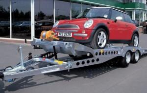 Remorque porte voitures plateau basculant - Devis sur Techni-Contact.com - 1